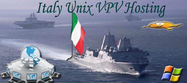 Italy UNIX VPS Hosting